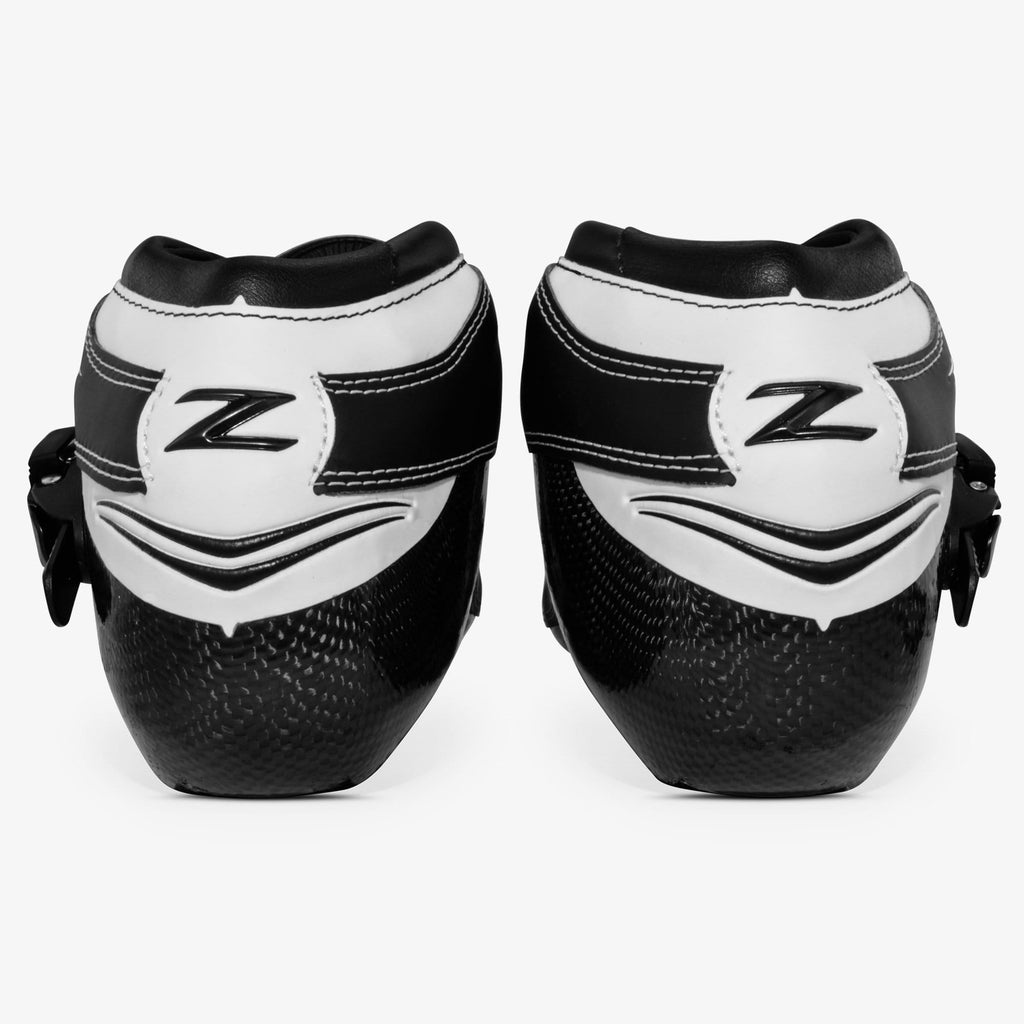 black-white bont inline speed skates