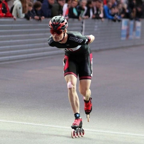 Bont Hanacoin Inline Speed Skating Suit Win