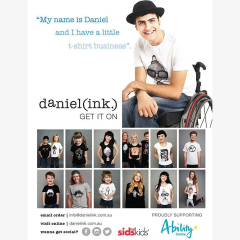 Daniel Ink Quad T-shirt