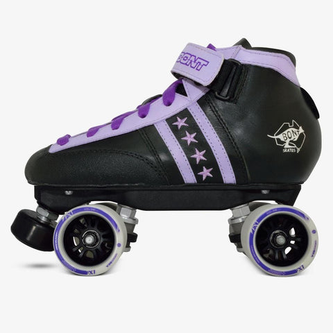 Bont Kids boys girls roller skate purple