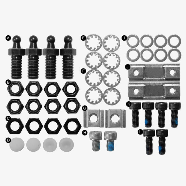 Replacement Infinity Roller Skate Components