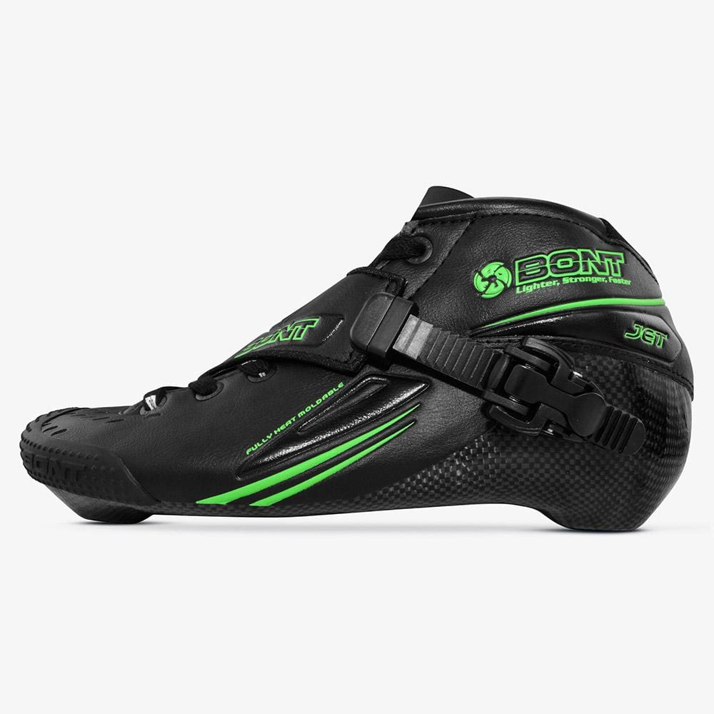 black-green Jet Inline Speed Skate