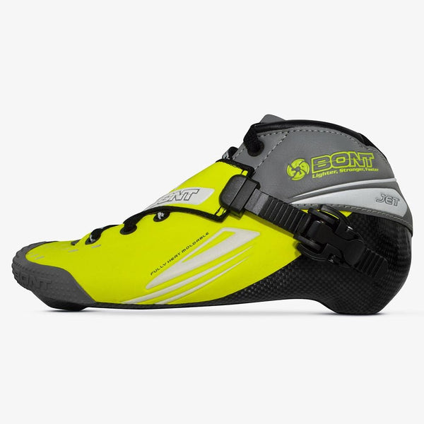 fluoro-yellow-gray Jet Inline Speed Skate