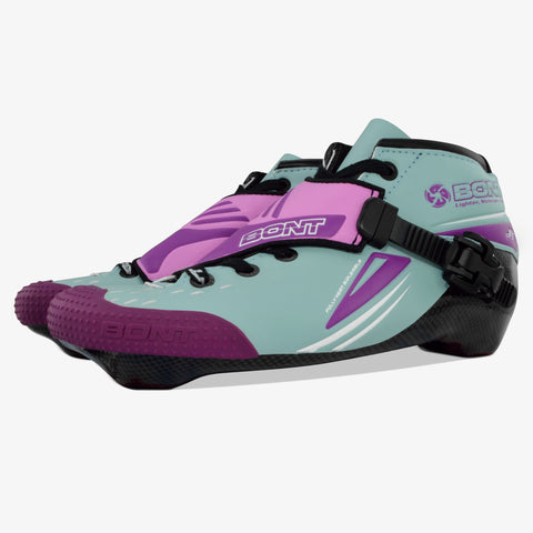 purple-light-blue Jet Inline Speed Skate