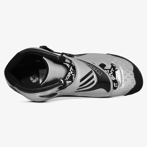 silver-black Jet Inline Speed Skate