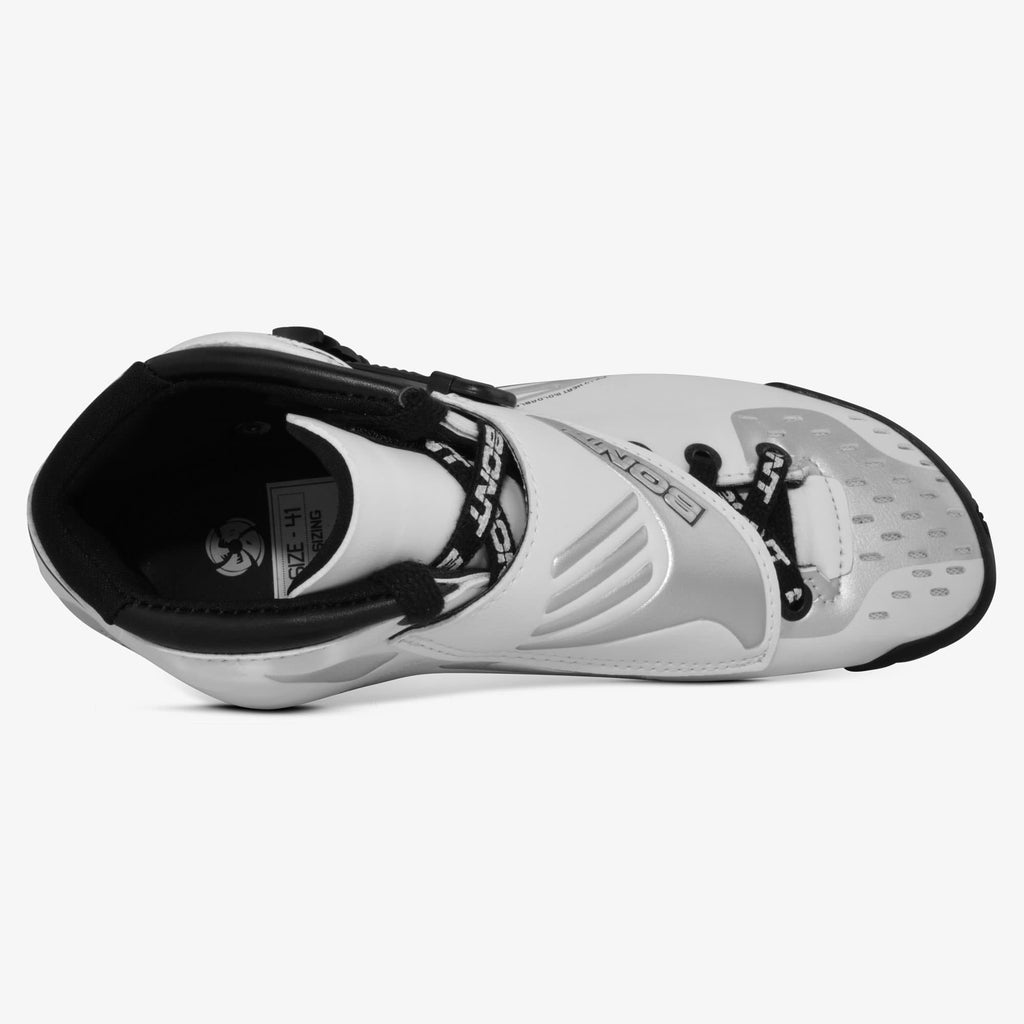 white-silver Jet Inline Speed Skate
