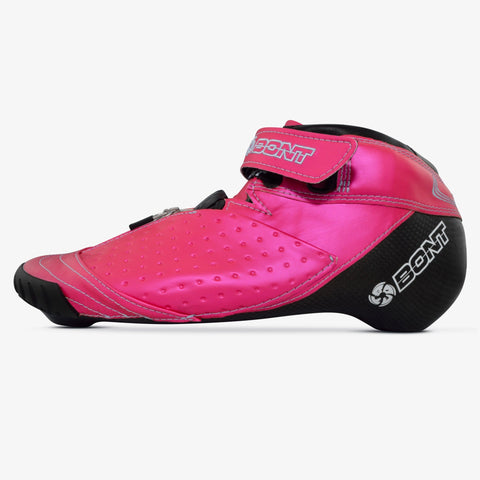 hot-pink bont inline speed skates