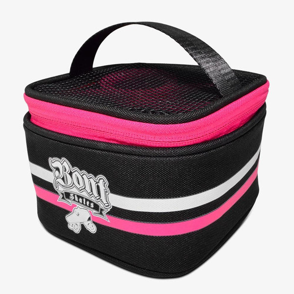 black-pink Roller Skate Wheel Bag