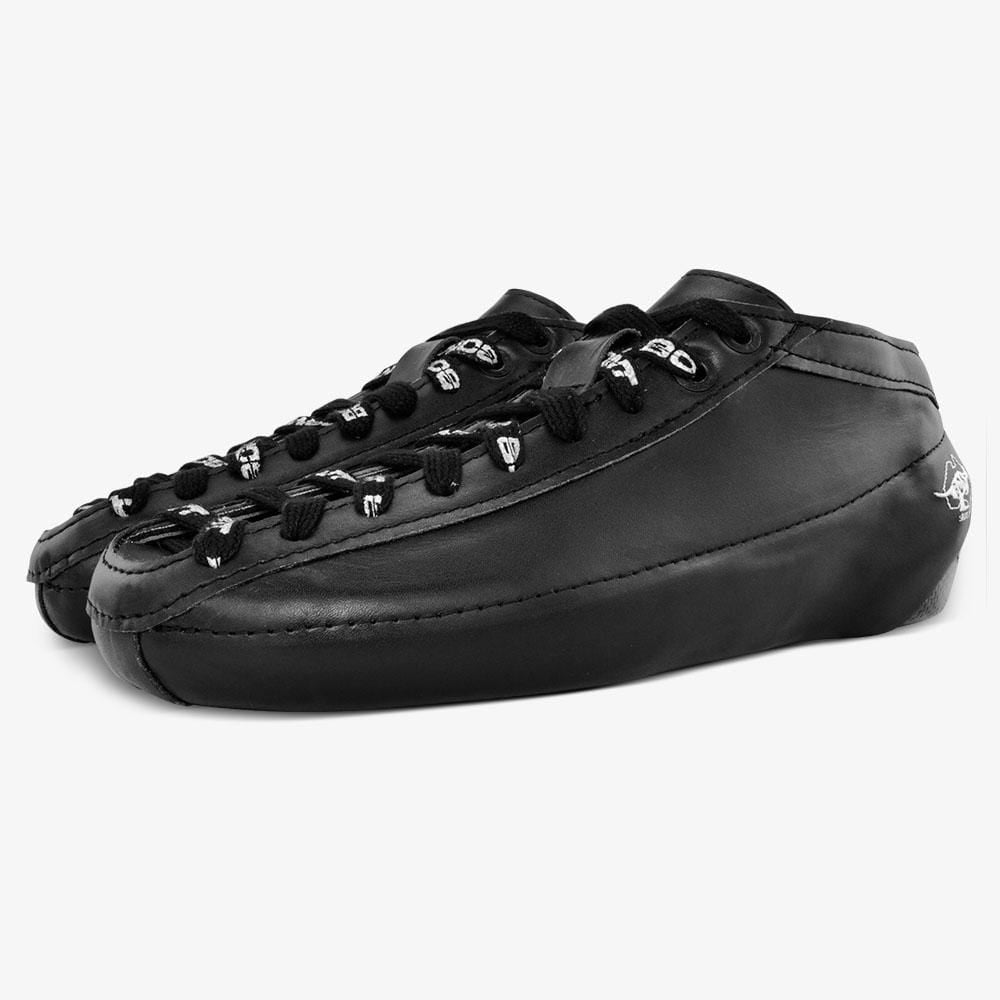 leather-black Racer Carbon Racer Speed Skate Boots