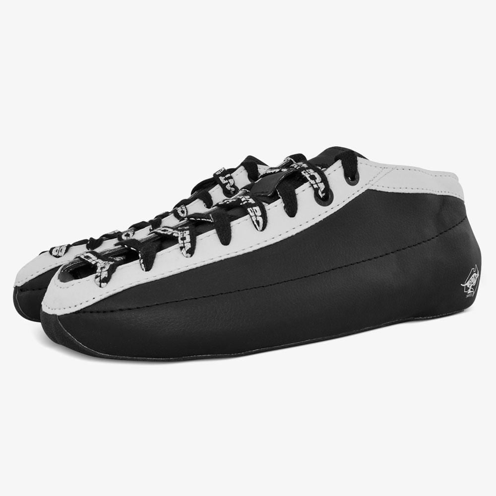 black-white Racer Speed Roller Skate