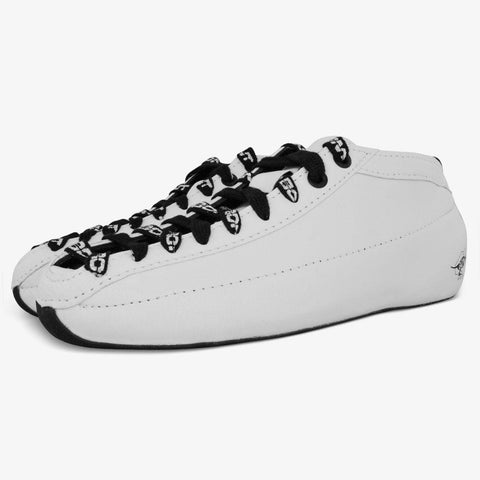 white Racer Speed Roller Skate
