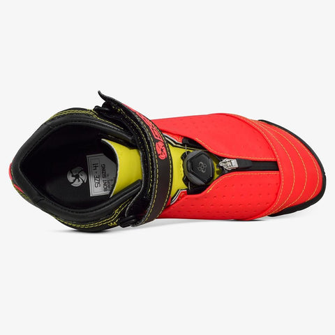 siren-red-super-yellow bont inline speed skates