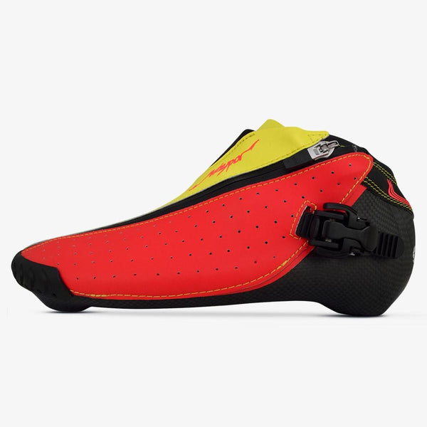 siren-red-super-yellow bont inline skate