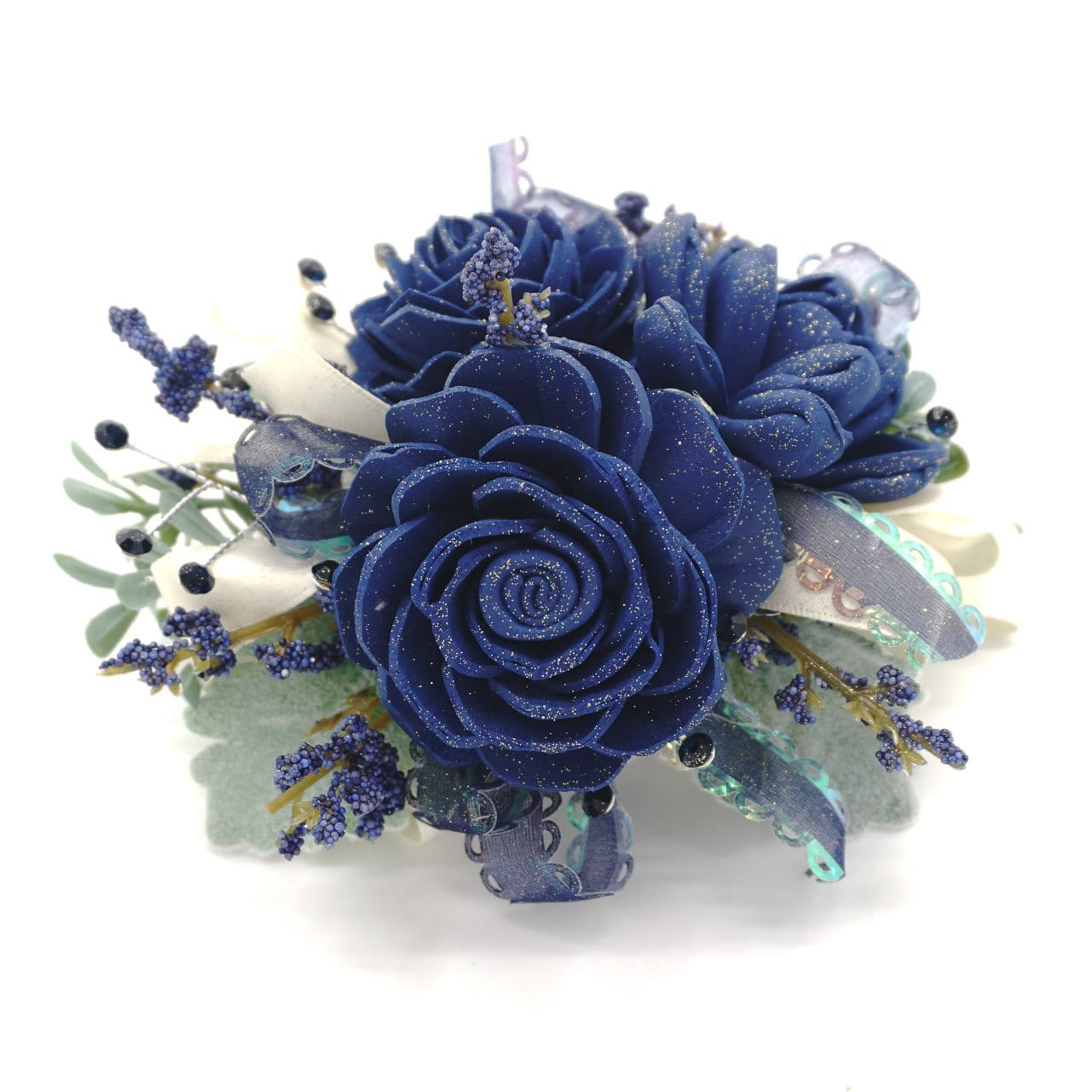 Formal Navy Corsage