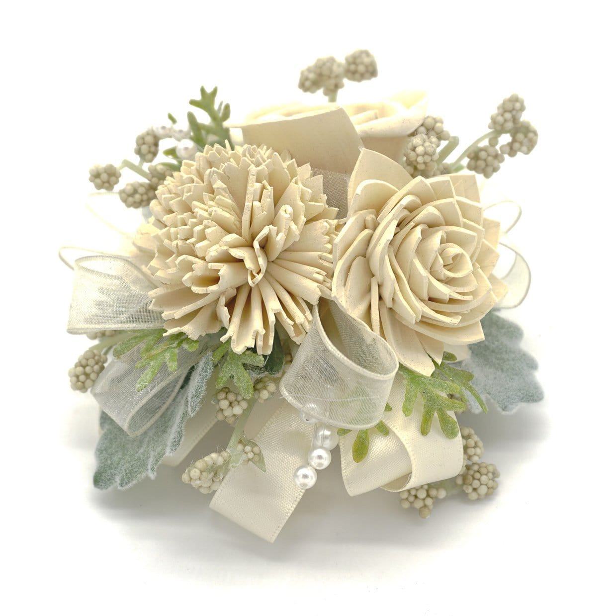 Timeless Cream Corsage
