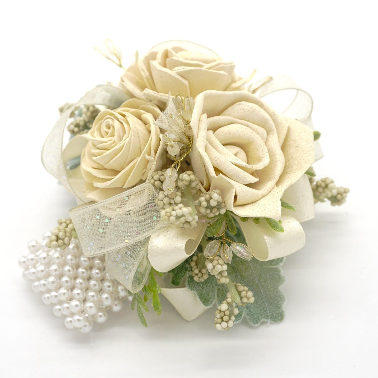 Formal Cream Corsage