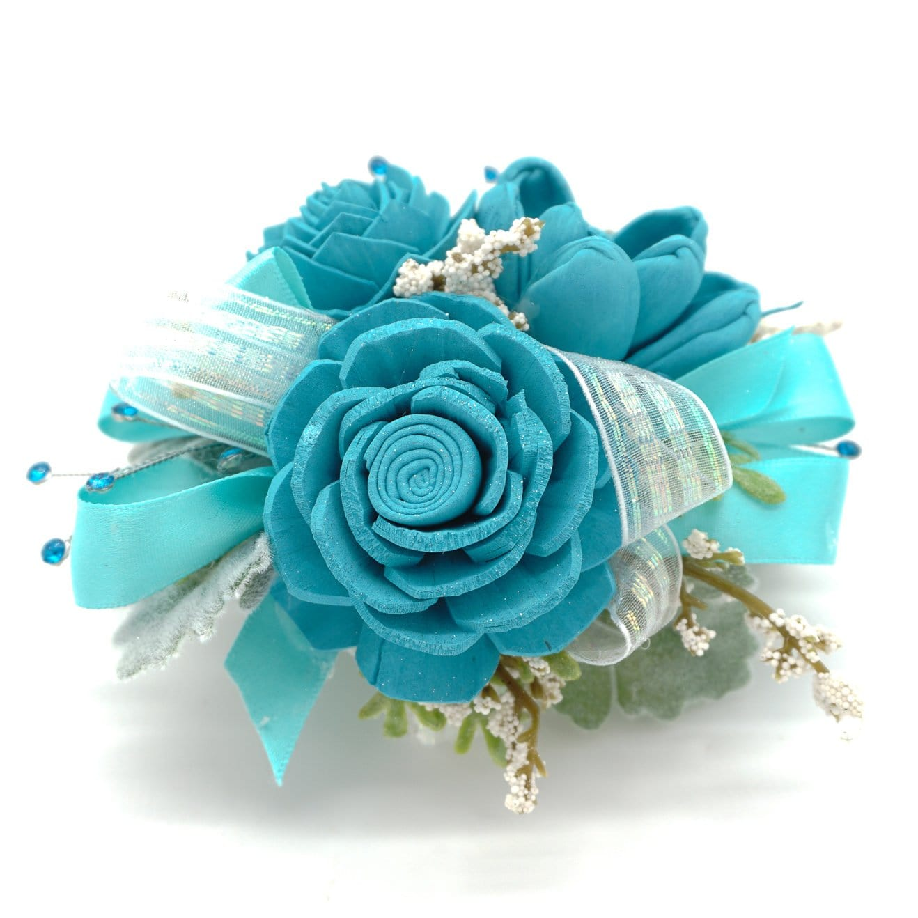 Formal Teal Corsage
