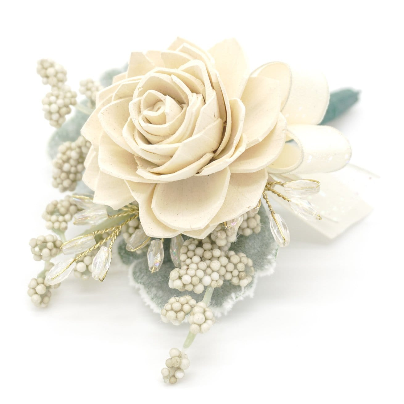 Formal Cream Boutonniere