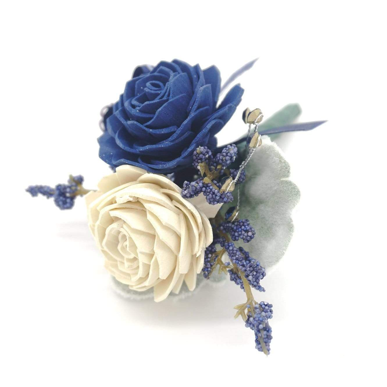 Formal Navy Boutonniere