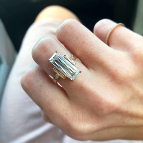 The True Gem Moissanite Engagement Ring Beaumade Virtual Try On App
