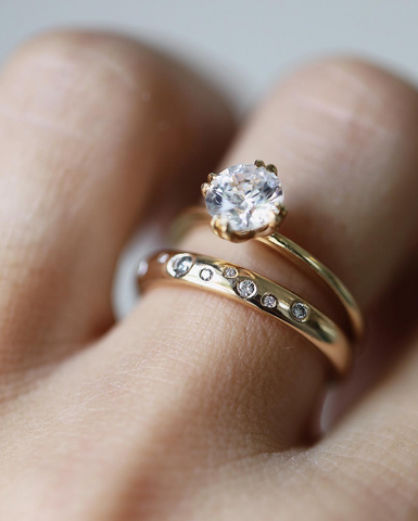 Consider The Wldflwr engagment ring