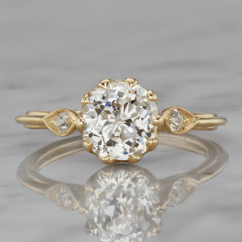 Vintage engagement ring in Beaumade by Victor Barbone