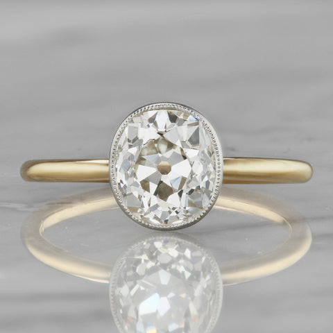 One-of-a-Kind Solitaire Classic Engagement Ring