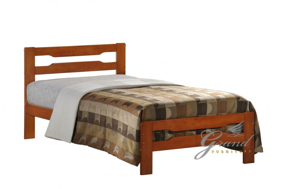 Amelia Contemporary 3FT Single Wooden Bed Frame