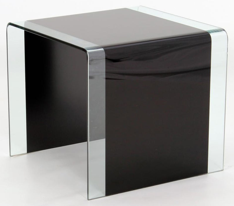 Angola Black Lamp Table