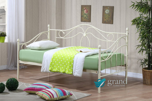 Apollo Cream Day Bed with Trundle
