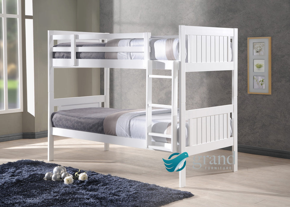 Miami Shaker Style Wooden Bunk Bed