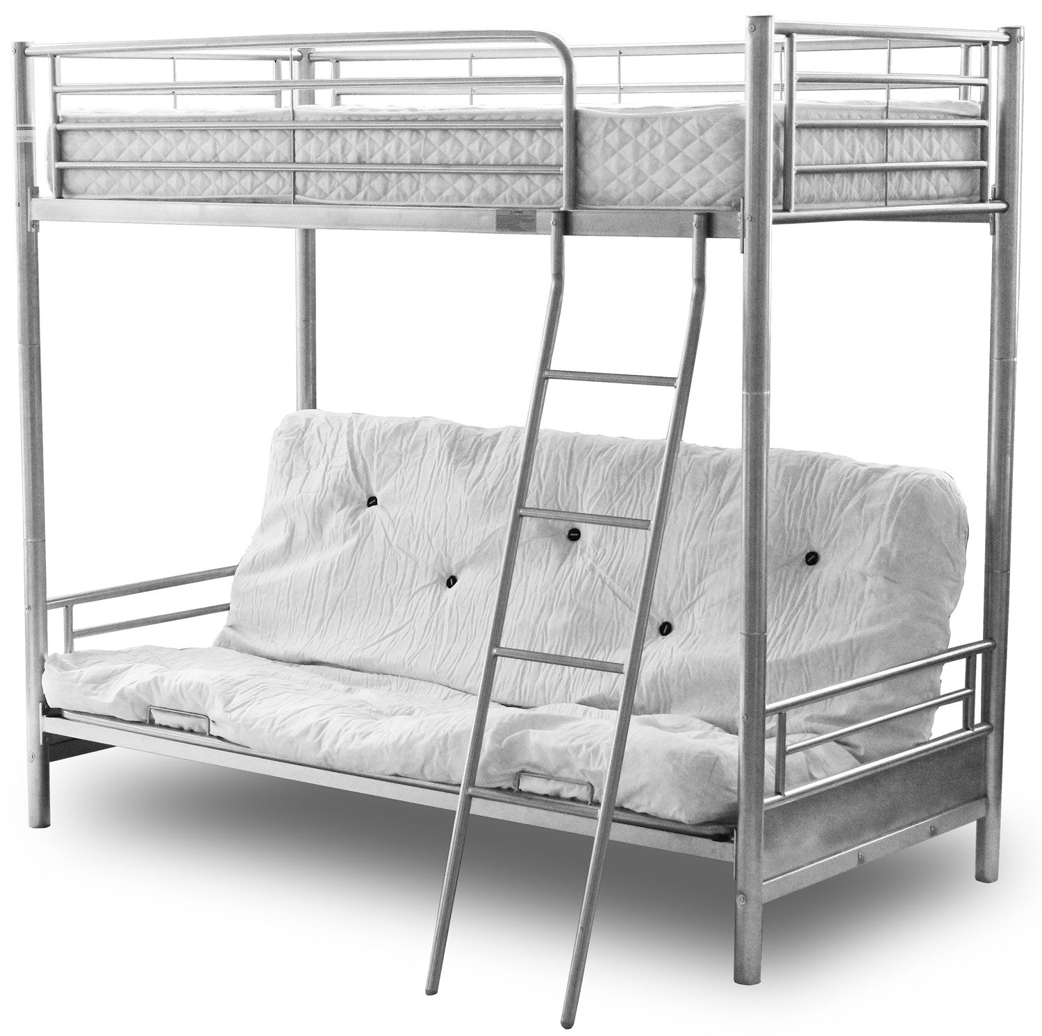 Alaska Modern Kids Futon Metal Bunk Bed Frame