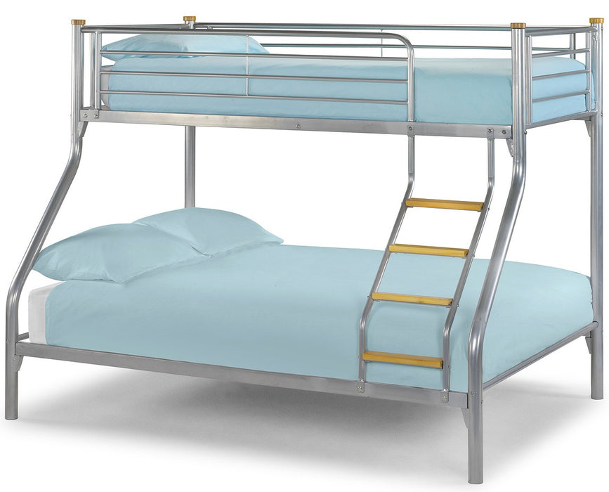 Atlas Triple 3 Sleeper Metal Bunk Bed Frame