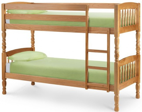 Lincoln Kids Wooden Bunk Bed Frame