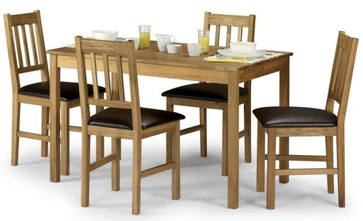 Coxmoor Solid Oak Wooden Dining Set
