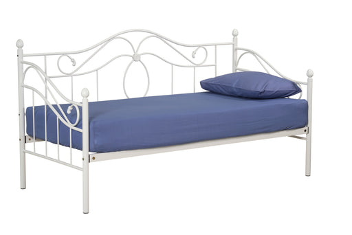 Sydney Metal Day Bed White