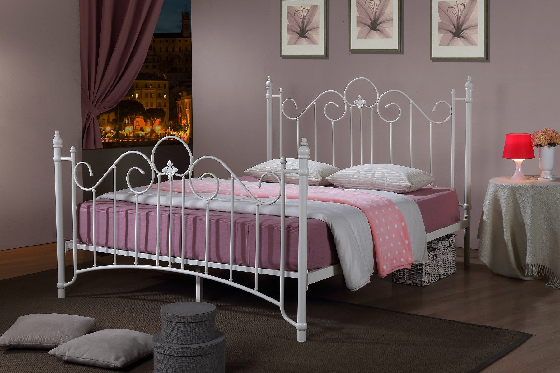 Virgo Metal Bed