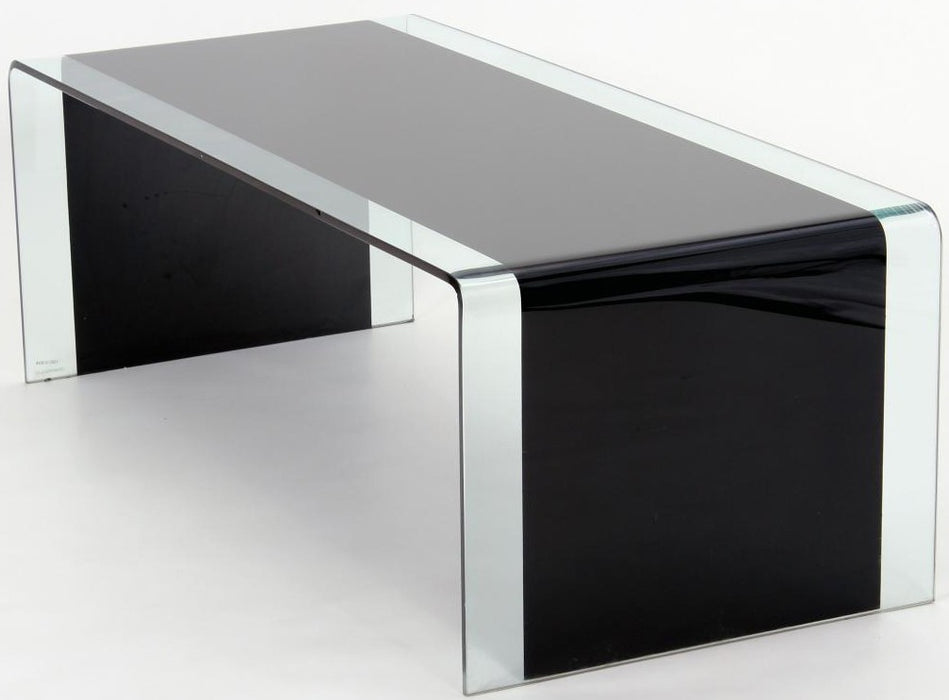 Angola Black Glass Coffee Table
