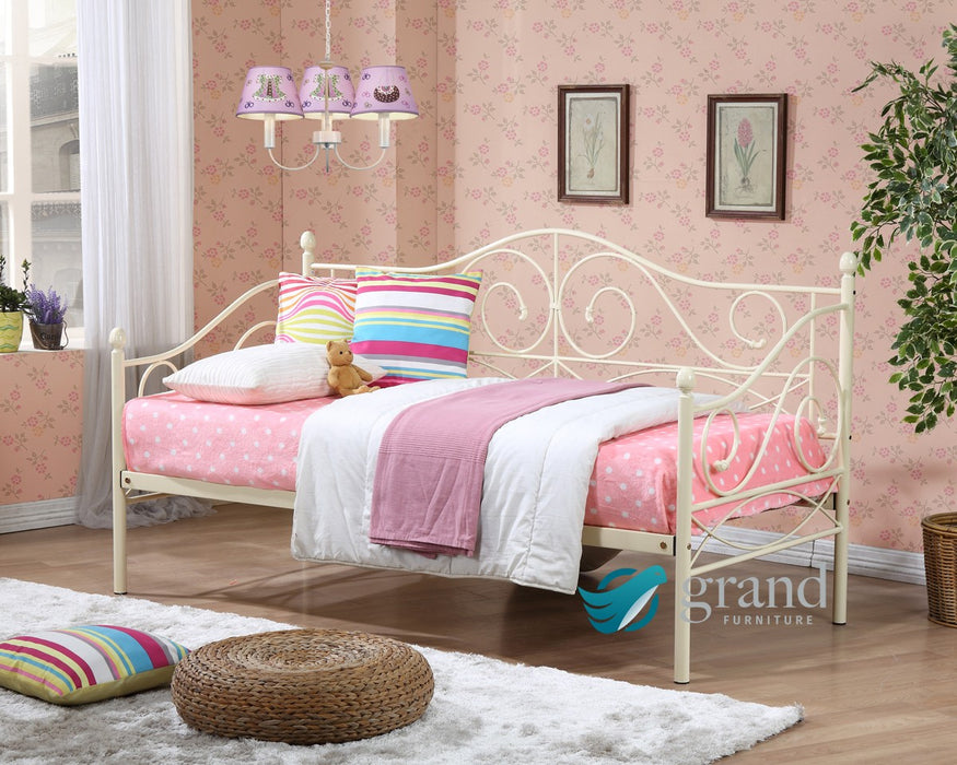 Rio Cream Day Bed with Trundle