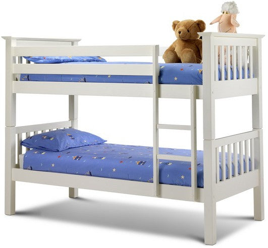 Barcelona Children Wooden Bunk Bed Frame