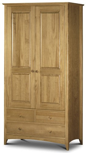 Kendal 3 Drawer 2 Door Wardrobe