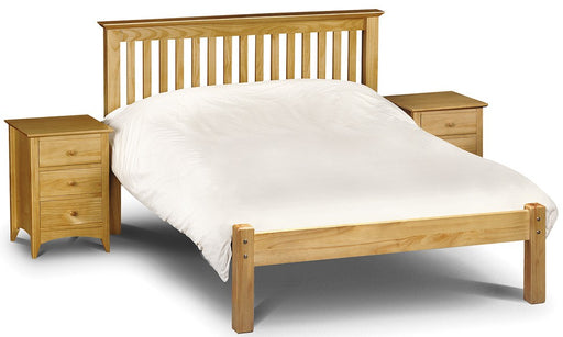 Barcelona Pine Wooden Low Foot End Bed Frame