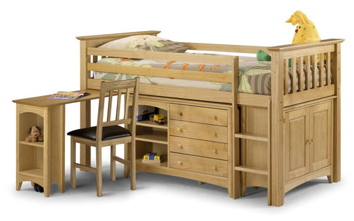 Barcelona Childrens Sleep Station Wooden Bed Frame
