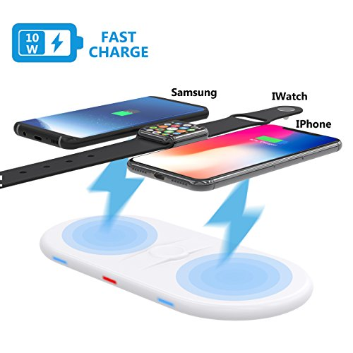 3 in 1 Charging Pad Stand Wireless Charging Station