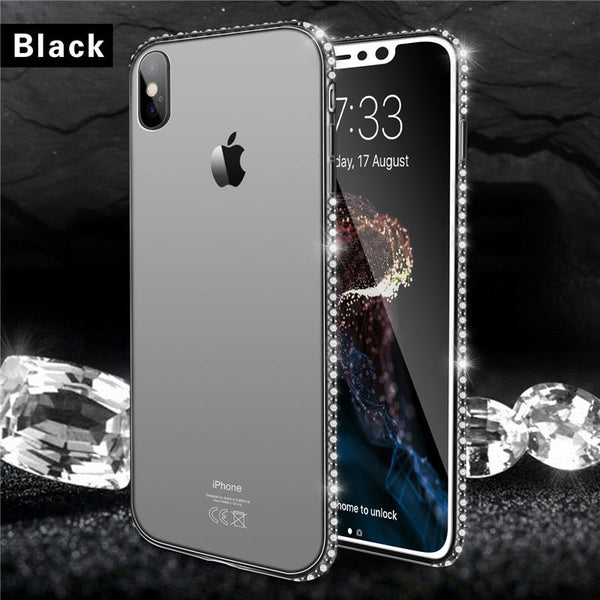 1394a3e648ac57 Diamond Phone Case For Apple iPhone Multiple Colors – I'm Just Selling