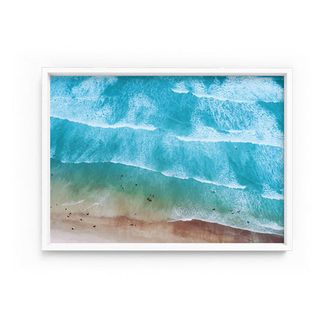 Waves and Summer Sea Print