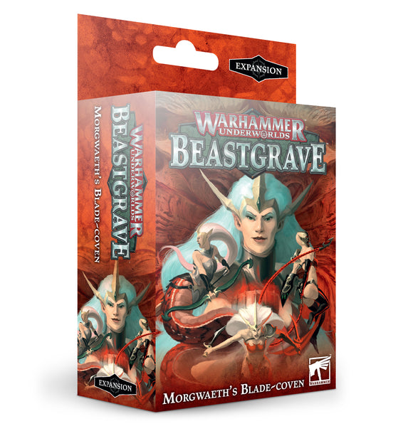 Warhammer Underworlds: Morgweath'S Blade-Coven (English) 110-89 Games Workshop Beastgrave Citadel Miniatures