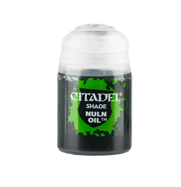 Shade: Nuln Oil (24Ml) 24-14 Games Workshop Citadel Paint For Miniatures Warhammer 40K GW