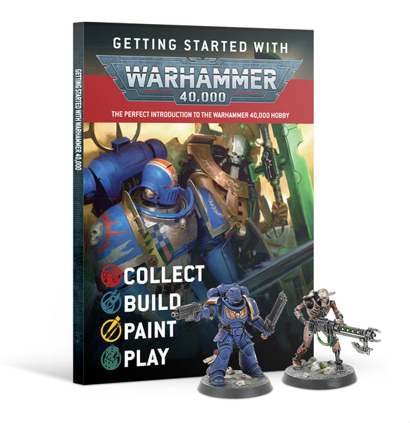 Getting Started With Warhammer 40K (Eng) 40-06 Games Workshop 40000K Citadel Miniatures Space Marines Necrons