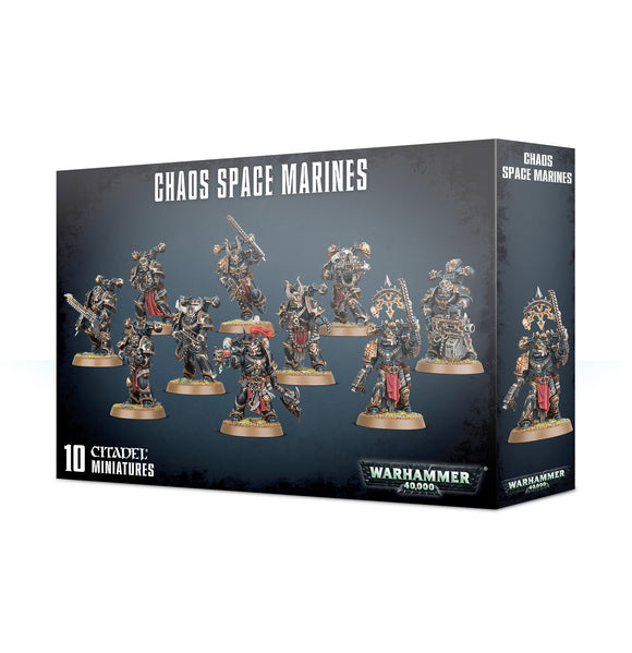 Chaos Space Marines 43-06 Games Workshop Warhammer 40K 40000 Citadel Miniatures GW